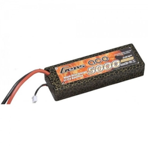 [젠스에이스] GENS ACE 5000mAh 2S 50C~100C 2S1P Hard Case Lipo Battery ROAR Approved