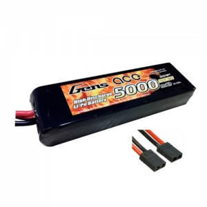 [젠스에이스] GENS ACE 5000mAh 3S 25C~50C Lipo Battery with Original TRX Connector