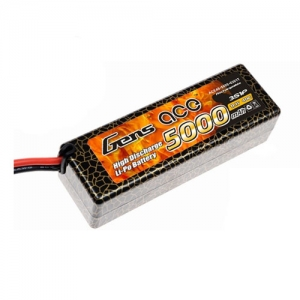 [젠스에이스] GENS ACE 5000mAh 3S 40C~80C Hard Case Lipo Battery