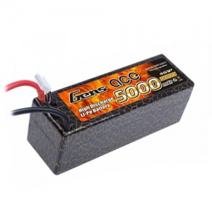 [젠스에이스] GENS ACE 5000mAh 4S 40C~80C Hard Case Lipo Battery