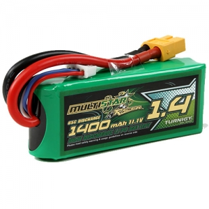 [터니지/멀티스타 MultiStar Race Spec 1400mAh 3S 65C Lipo Pack
