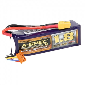 [터니지/나노텍] Turnigy nano-tech A-SPEC G2 1800mah 4S 65~130C Lipo Pack