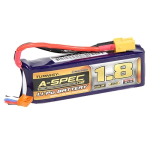 [터니지/나노텍] Turnigy nano-tech A-SPEC G2 1800mah 3S 65~130C Lipo Pack