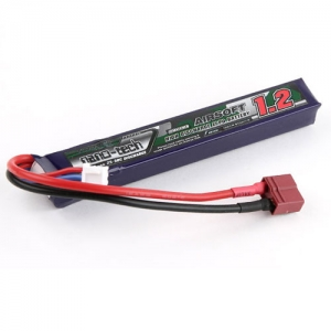 [터니지/나노텍] Turnigy nano-tech 1200mAh 2S 25~50C Lipo AIRSOFT Pack