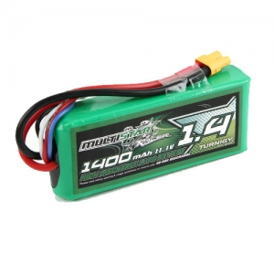[터니지/멀티스타] MultiStar Race Spec 3S 1400mAh 40-80C Multi-Rotor Lipo Pack For FPV Minis