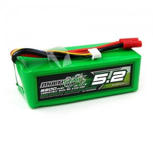 [터니지/멀티스타] MultiStar High Capacity 3S 5200mAh Multi-Rotor Lipo Pack for QR X350 PRO