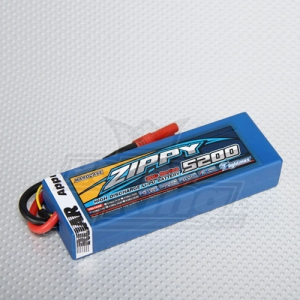 [지피/ZIPPY] Flightmax 5200mAh 2S2P 30C~40C HardCase Pack