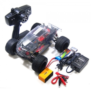 [엘씨레이싱] LC RACING 1/14 Mini Brushless Monster Truck RTR