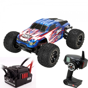 [팀로시] TEAM LOSI (하비윙 QuickRun 150A 변속기+DX4C 버전) LST XXL-2 Electric 1/8-Scale 4WD Brushless Monster Truck