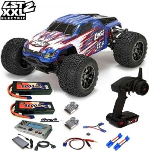 [팀로시] TEAM LOSI LST XXL-2 Electric 1/8-Scale 4WD Brushless Monster Truck 2셀 풀세트 (TINY G 급속충전기 버전)