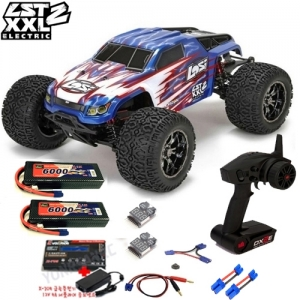 [팀로시] TEAM LOSI LST XXL-2 Electric 1/8-Scale 4WD Brushless Monster Truck 2셀 풀세트 (X-705 급속충전기 버전)