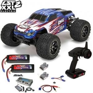 [팀로시] TEAM LOSI LST XXL-2 Electric 1/8-Scale 4WD Brushless Monster Truck 3셀 풀세트 (TINY G 급속충전기 버전)
