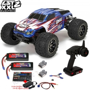 [팀로시] TEAM LOSI LST XXL-2 Electric 1/8-Scale 4WD Brushless Monster Truck 3셀 풀세트 (X-705 급속충전기 버전)