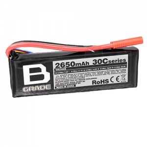 [터니지] TURNIGY B-Grade 2650mAh 3S 30C Lipoly Battery 24772